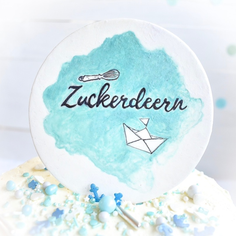 Zuckerdeern Cake Topper